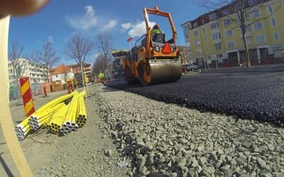 En godkänd trafikanordningsplan är en förutsättning för att kunna påbörja grävningen.