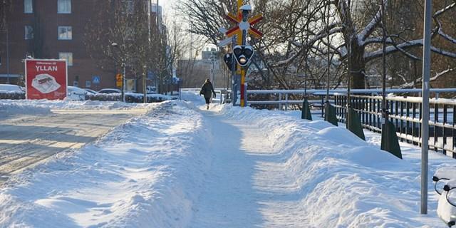 Bild på snö