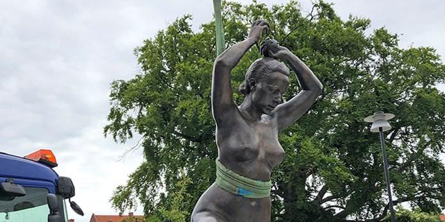 Nyrenoverad och vacker landar Livsglädje i Åhus igen