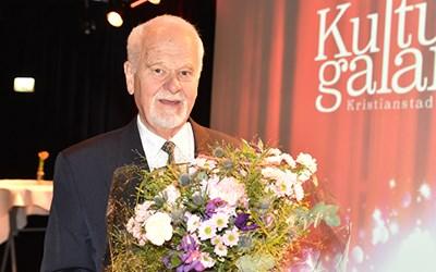 Silversmeden Björn Flygare, kommunens kulturpristagare.